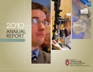 Annual Report 2010 - University of Wisconsin Department of ...