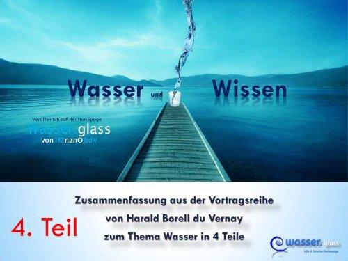 4. Teil Wasser Wissen plus 5. Teil im Anhang