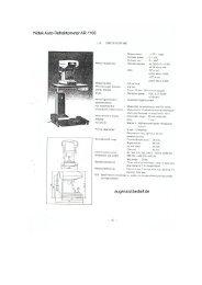 Nidek Auto-Refraktometer AR-1100