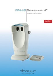 Binoptometer 4P OCULUS