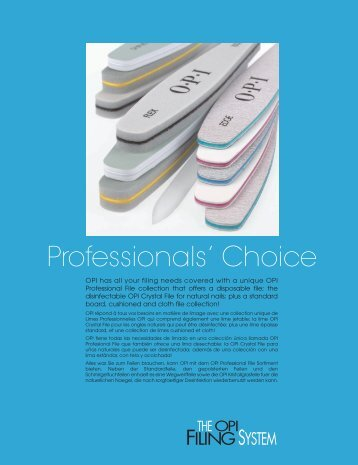 Professionals' Choice - Opi