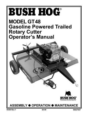 Bush Hog repair manual