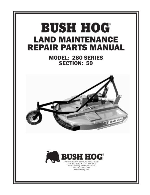BUSH HOG