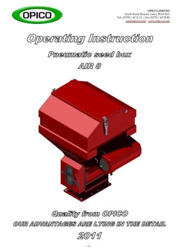 Models 305 Amp 306 Parts Manual Opico