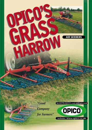 6823 6pp Grass Harrow.4 - Opico