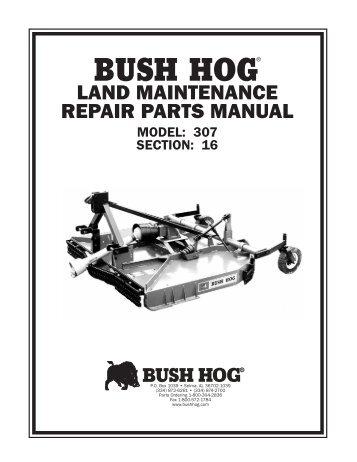 Bush Hog Land Maintenan