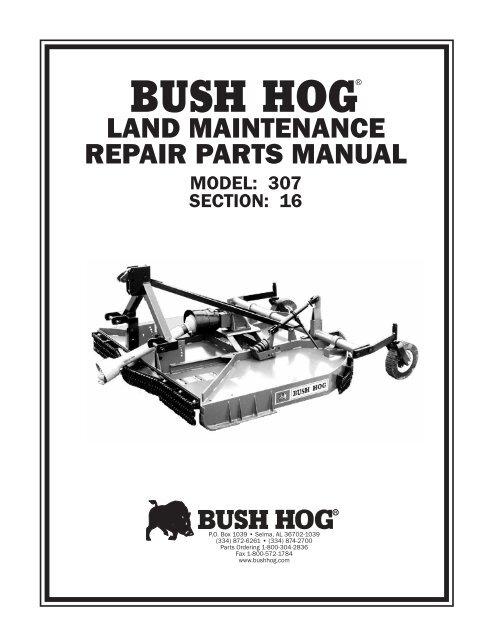 Bush Hog Gt42 Parts Diagram