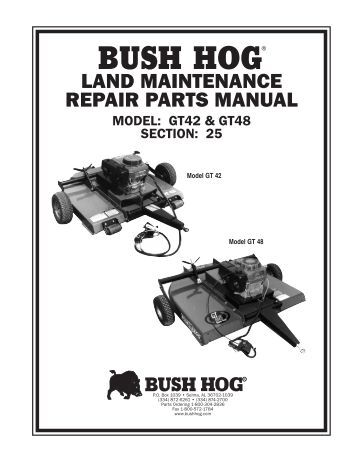 BUSH HOG/ LAND MAINTENANC