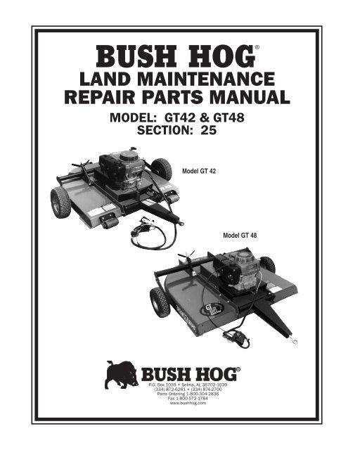 BUSH HOG / LAND MAINTENAN