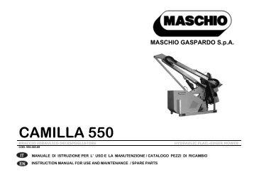 MASCHIO GASPARDO SpA - Opico