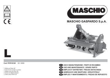 MASCHIO GASPARDO S.p.A. - Opico