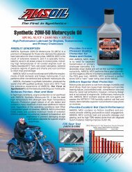 High Performance Synthetic 20W-50 Motorcycle Oil - Opie Oils