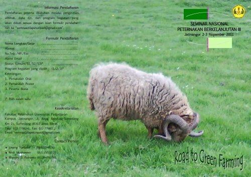 seminar nasional peternakan berkelanjutan iii - Blogs Unpad ...