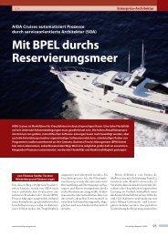 Mit BPEL durchs Reservierungsmeer AIDA ... - Opitz Consulting