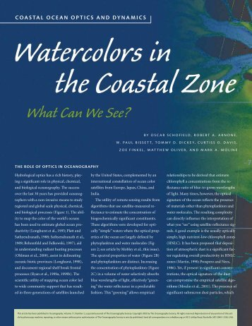 What Can We See? - Ocean Physics Laboratory (OPL)