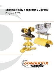 Kabelové vozíky pro kruhové kabely Program 0230 - OPO spol. s ro