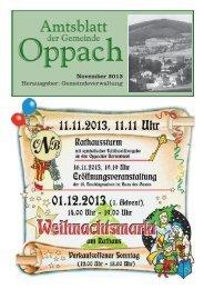 November - Oppach