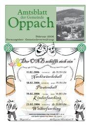 Februar - Oppach
