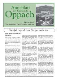 Januar - Oppach