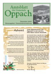 Advent - Oppach