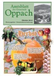 Oktober - Oppach