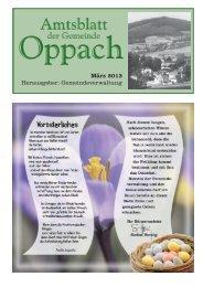 März - Oppach
