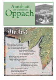 Amtsblatt der Gemeinde Oppach 7. Oktober 2005 Seite 1