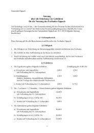 Gebührensatzung Freibad Oppach