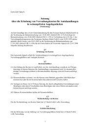 Satzung über die Erhebung von Verwaltungskosten für ... - Oppach