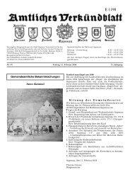 Verkündblatt KW 07 - 15. Februar 2008 - Stadt Oppenau