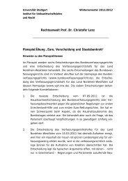Rechtsanwalt Prof. Dr. Christofer Lenz Planspiel ... - oppenlaender.de