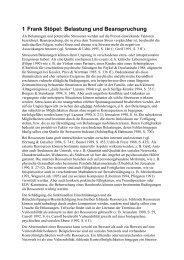 1 Frank Stöpel: Belastung und Beanspruchung - Dr. Stöpel