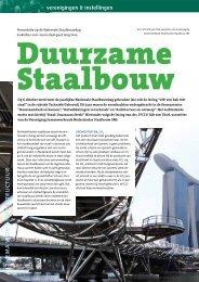Duurzame Staalbouw