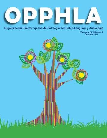 Ver Revista - OPPHLA