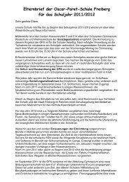 Elternbrief 2011/12 (*.PDF) - Oscar-Paret-Schule Freiberg aN