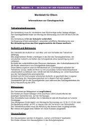 Merkblatt für Eltern als PDF