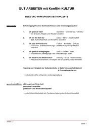 Ziele, Leitgedanken und Regeln (*PDF)