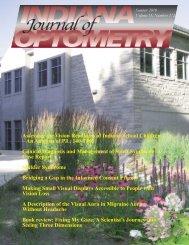 Summer 2010 - Indiana University School of Optometry