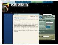 Astronomy Magazine - Oceanside Photo and Telescope