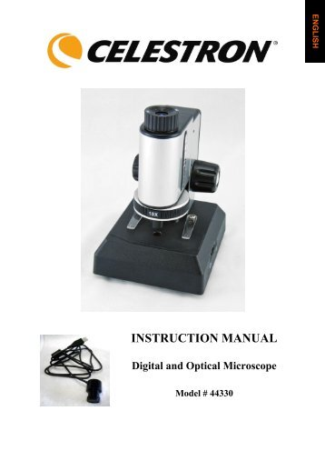 INSTRUCTION MANUAL - Celestron