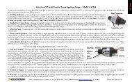Celestron 7-21x40 Electric Zoom Spotting Scope – Model # 52201