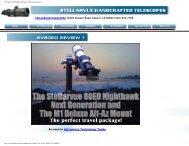 SV 80mm ED Doublet Refractor Telescope Review 1