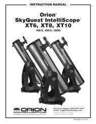Orion SkyQuest™ Intelliscope Telescope Instruction Manual