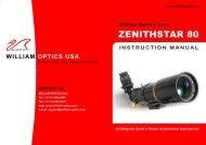ZENITHSTAR 80 - Oceanside Photo and Telescope