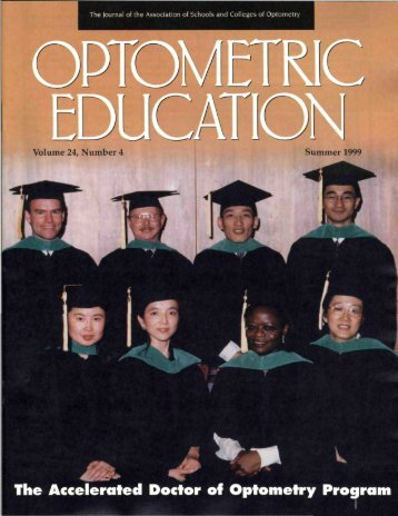 Summer 1999, Volume 24, Number 4 - Association of Schools and ...