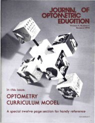 journnl of optonsetric educ4tion - Association of Schools and ...