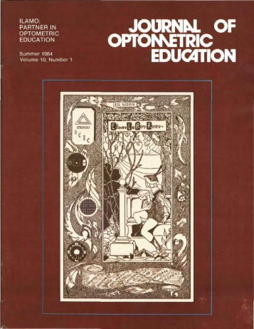Summer 1984, Volume 10, Number 1 - Association of Schools and ...