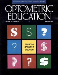 Summer 1994, Volume 19, Number 4 - Association of Schools and ...