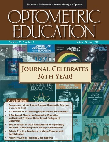 Winter 2011, Volume 36, Number 2 - Association of Schools and ...
