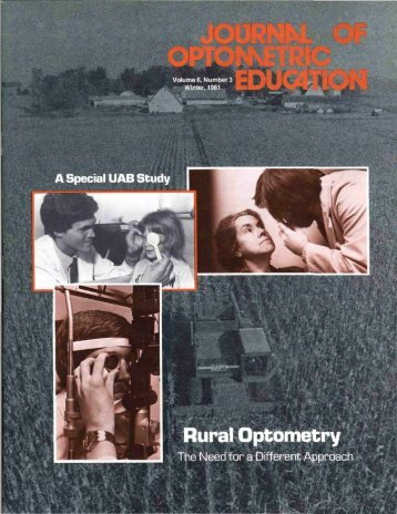 Rural Optometr - Association of Schools and Colleges of Optometry